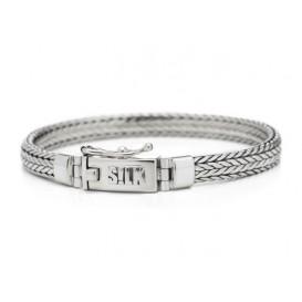 Silk Jewellery Armband zilver Shiva 19 cm 339