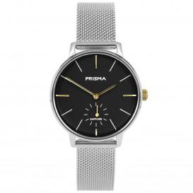 Prisma horloge 1444 dames edelstaal saffierglas 5 ATM P.1444 Dameshorloge 1
