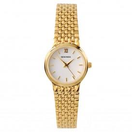 Sekonda Horloge 4849 Dames Staal Goud SEK.4849 Dameshorloge 1