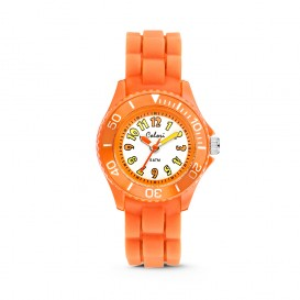 Colori Kidz 5-CLK013 - Kinderhorloge - siliconen band - oranje - 30 mm