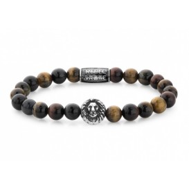 Rebel and Rose RR-8L028-S Armband Who's Afraid of the Tiger 8 mm (L) 19 cm