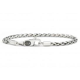 SILK Jewellery 149 Armband Fox zilver 19 cm