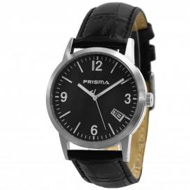 Prisma horloge 33W162161 Heren Classic Edelstaal P.2175 Herenhorloge 1