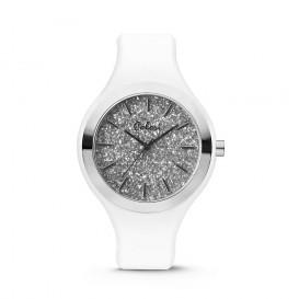 Colori Horloge Macaron siliconen wit 44 mm 5-COL518