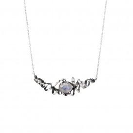 Rabinovich Collier zilver met maansteen 42-45 cm 60902021