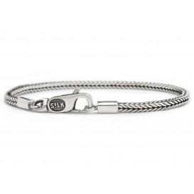 SILK Jewellery 150 Armband Chevron zilver 18 cm