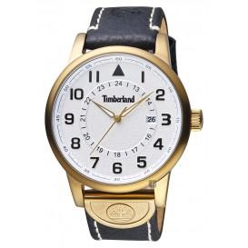 Timberland horloge Cohasset Black Strap staal/leder 15250JSK/04