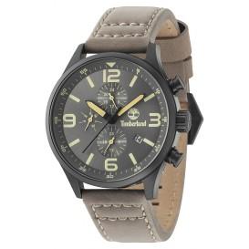 Timberland horloge Rutherford staal/leder 15266JSB/79