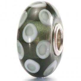 Trollbeads 1531804A Kraal Colour Joy Grey zilver-glas grijs