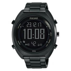 Pulsar Herenhorloge Digitaal Zwart P5A017X1