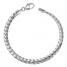 Armband Zilver Gourmet Bol 5,3 mm 19 cm