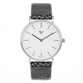 Prisma Horloge 1865 Dames Edelstaal Zilver 100%NL P.1865 Dameshorloge 1