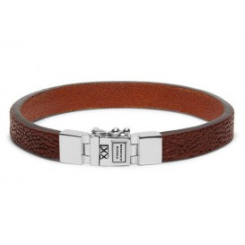 Buddha to Buddha 186CO armband Essential Leather Texture Cognac