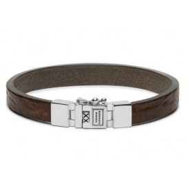 Buddha to Buddha armband Essential Leather Smooth Sand (F) 21 cm 186SA