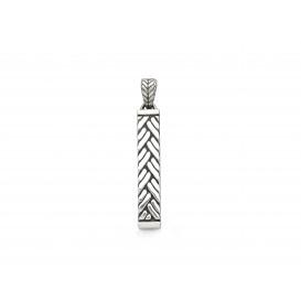 Silk Jewellery 190-1 Hanger zilver