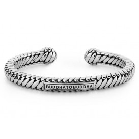 Buddha to Buddha armband zilver Ben Torque (F) 21 cm 227