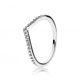 Pandora 196315 Ring Wishbone zilver Mt 52