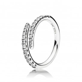Pandora ring zilver maat 54 196353CZ