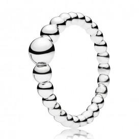 Pandora 197536 Ring zilver String of Beads Maat 50