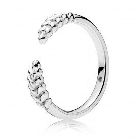 Pandora Ring zilver Open Grains Maat 58 197699