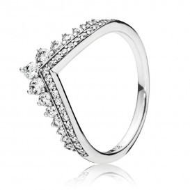 Pandora Ring zilver Princess Wish Maat 58 197736CZ
