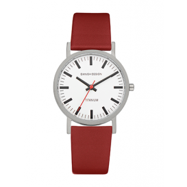 Danish Design IQ19Q199 horloge titanium 35 mm