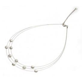 Boccia 0852-03 Dames titanium collier