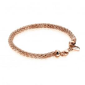 Zinzi ZIA1057R Zilveren armband roseverguld