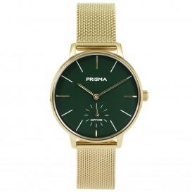 Prisma horloge 1442 dames edelstaal saffierglas 5 ATM P.1442 Dameshorloge 1