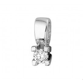 TFT Hanger Witgoud Diamant 0.15 Ct.