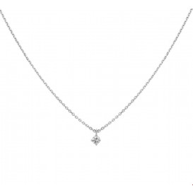 TFT Collier Witgoud Diamant 0.10ct H SI 41 - 43 - 45 cm
