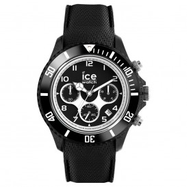 Ice-Watch IW014222 ICE Dune - Silicone - Black - Exrta Large horloge