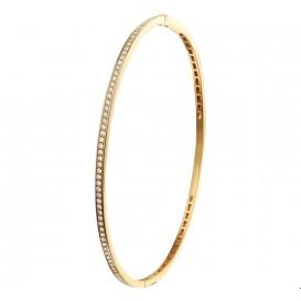 TFT Slavenband Goud Scharnier Diamant 0.44ct H SI