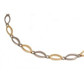 Boccia 0846-02 bicolor collier