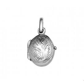 Medaillon Gravure Zilver  14,0 mm x 11,0 mm