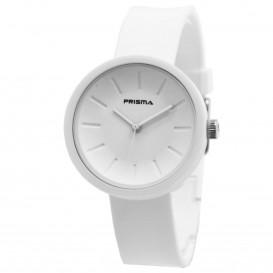 **Prisma horloge P.1256 C011914 Design Mini Simpel Wit P.1256 Herenhorloge 1
