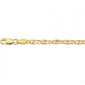 Armband Goud Valkenoog 3,3 mm 19 cm
