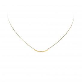 Glow Gouden Collier - Balk 43 Cm  202.2076.43