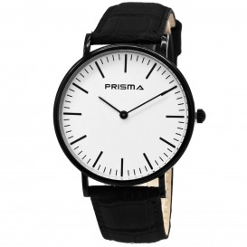 Prisma Unisexhorloge Zwart P.1622.148G