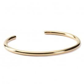 Trollbeads TGPBA-00003 Bangle zilver goudkleurig