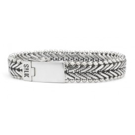 SILK Jewellery 234.19 Armband zilver 'Ganesha' 19 cm