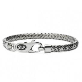 S!LK Jewellery Armband 331.19 zilver 'Shiva' 19 cm
