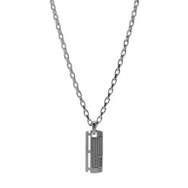 Fossil JF84466040 Ketting Men's Dress staal 40-50 cm