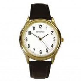 Sekonda Horloge 3623 Leer SEK.3623 Herenhorloge 1