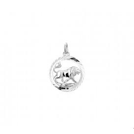 TFT Bedel Sterrenbeeld Leeuw zilver 16 mm