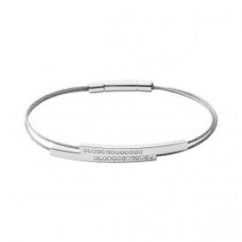 Skagen SKJ1117040 Armband Elin staal zilverkleurig
