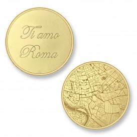 Mi Moneda ROM-02 Del Mundo - Rome goudkleurig Large