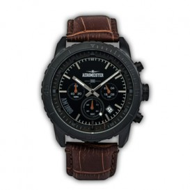 AEROMEISTER -1880- AM2001 Pilot Chrono Black