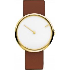 "Watch 254 Stainless Steel Jacob Jensen ""curve"". Horloge"