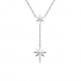 Rebel and Rose RR-NL008-S Ketting Rising Star zilver 42-48 cm